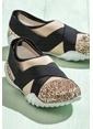 Elle Sneaker Ayakkabı Altın